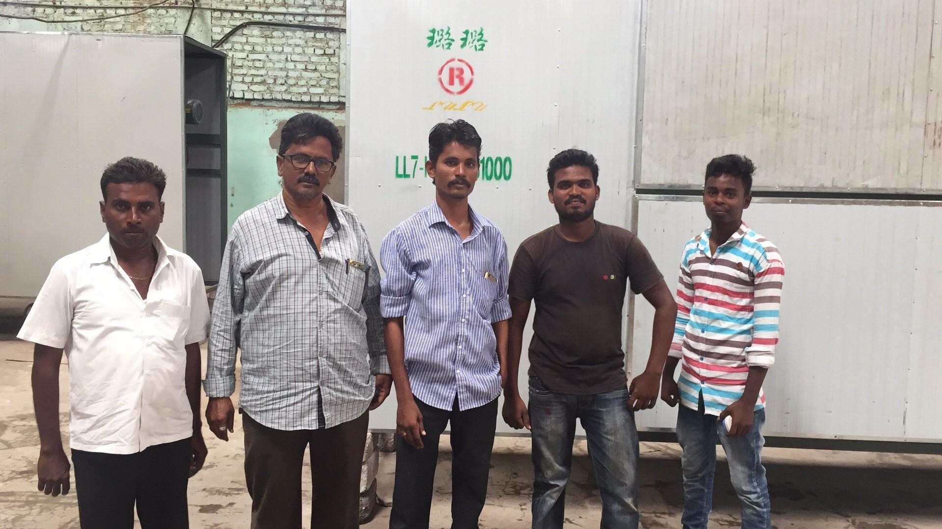印度客户参观公司